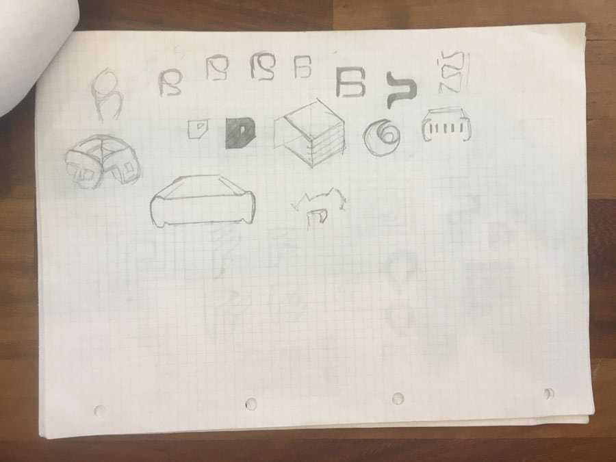 Logo Sketches by The Logo Smith