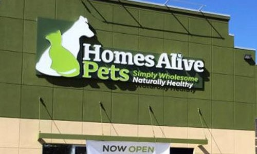 Homes-alive-pets-pet-shop-logo-design