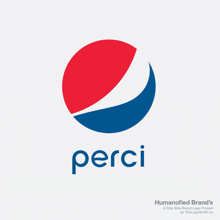 Humanofied-Brands-Perci-vs-Pepsi-logo