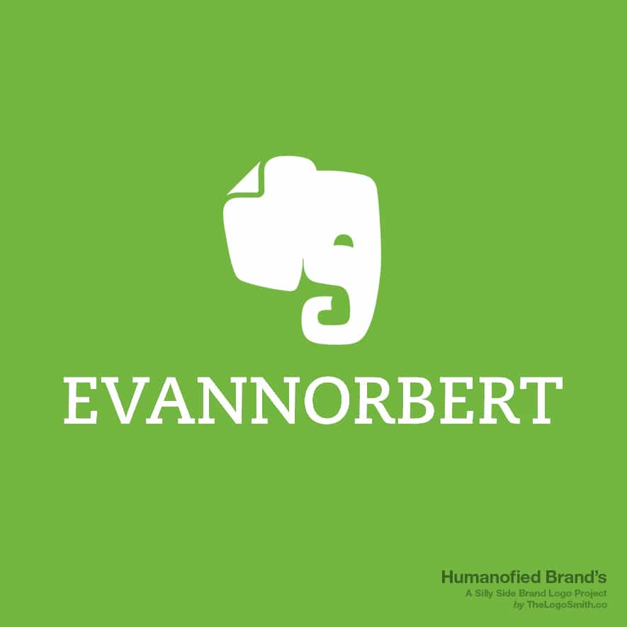 Humanofied-Brands-evannorbert-logo-vs-evernote-logo