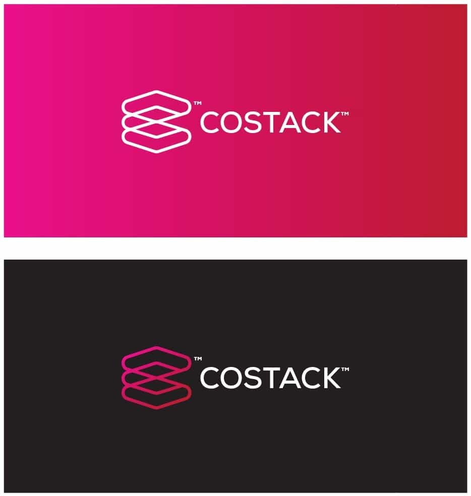 COSTACK-Flash-Storage-Custom-Logo-Design-For-sale-by-The-Logo-Smith