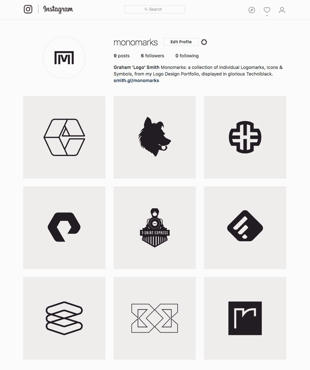Monomark Portfolio on Instagram