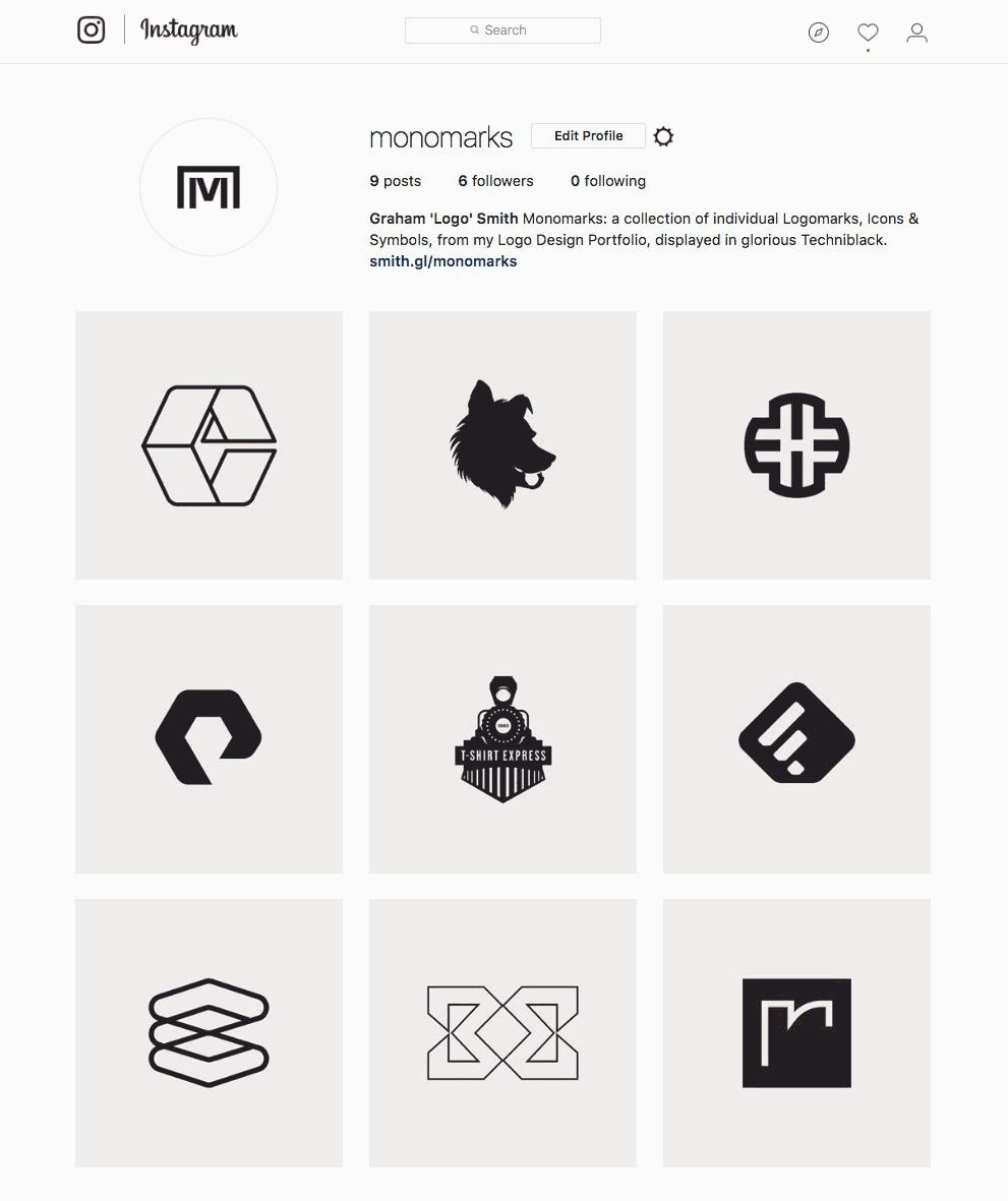 Monomark Portfolio on Instagram