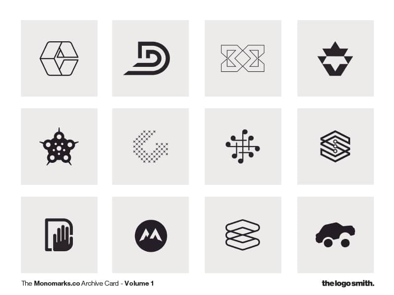 Monomark-Archive-Card-Volume-2 by-The-Logo-Smith