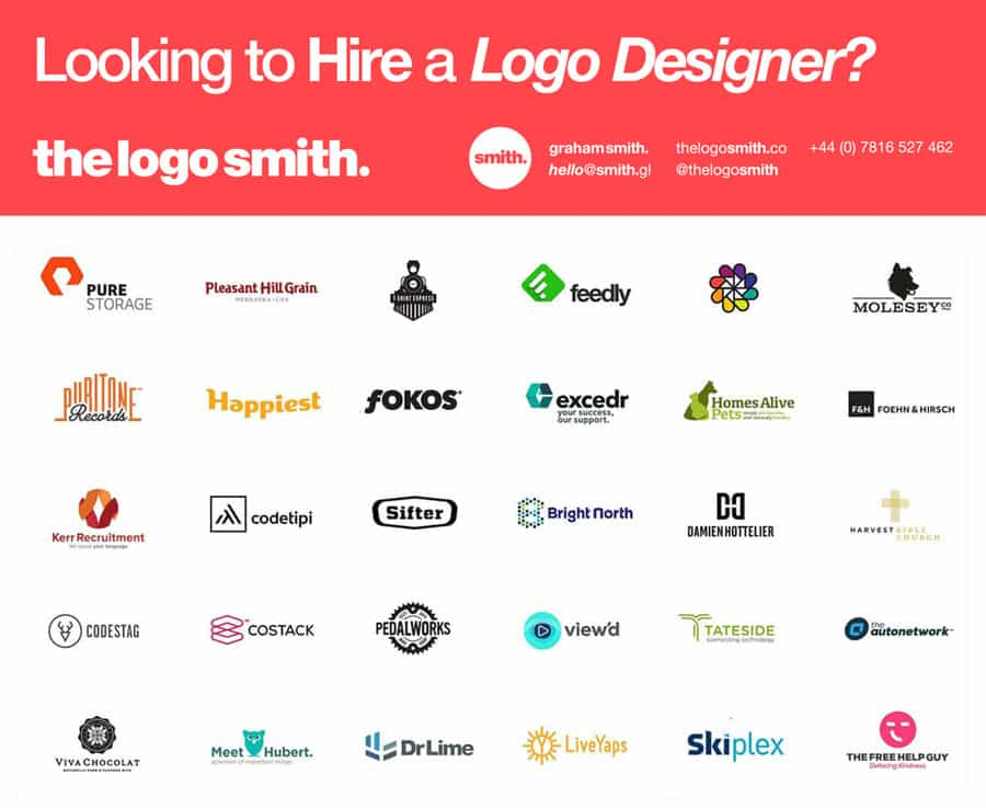 Freelance logo designer for hire