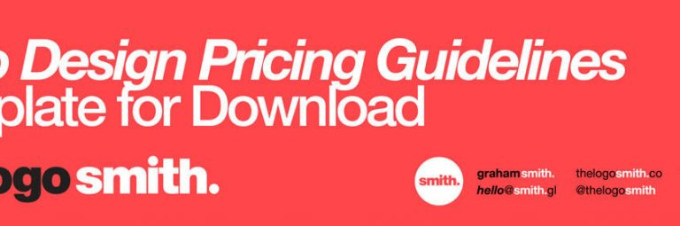 logo design pricing guidelines template