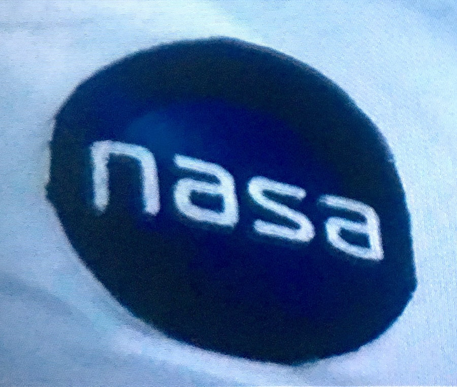 nasa logo design in movie film life small
