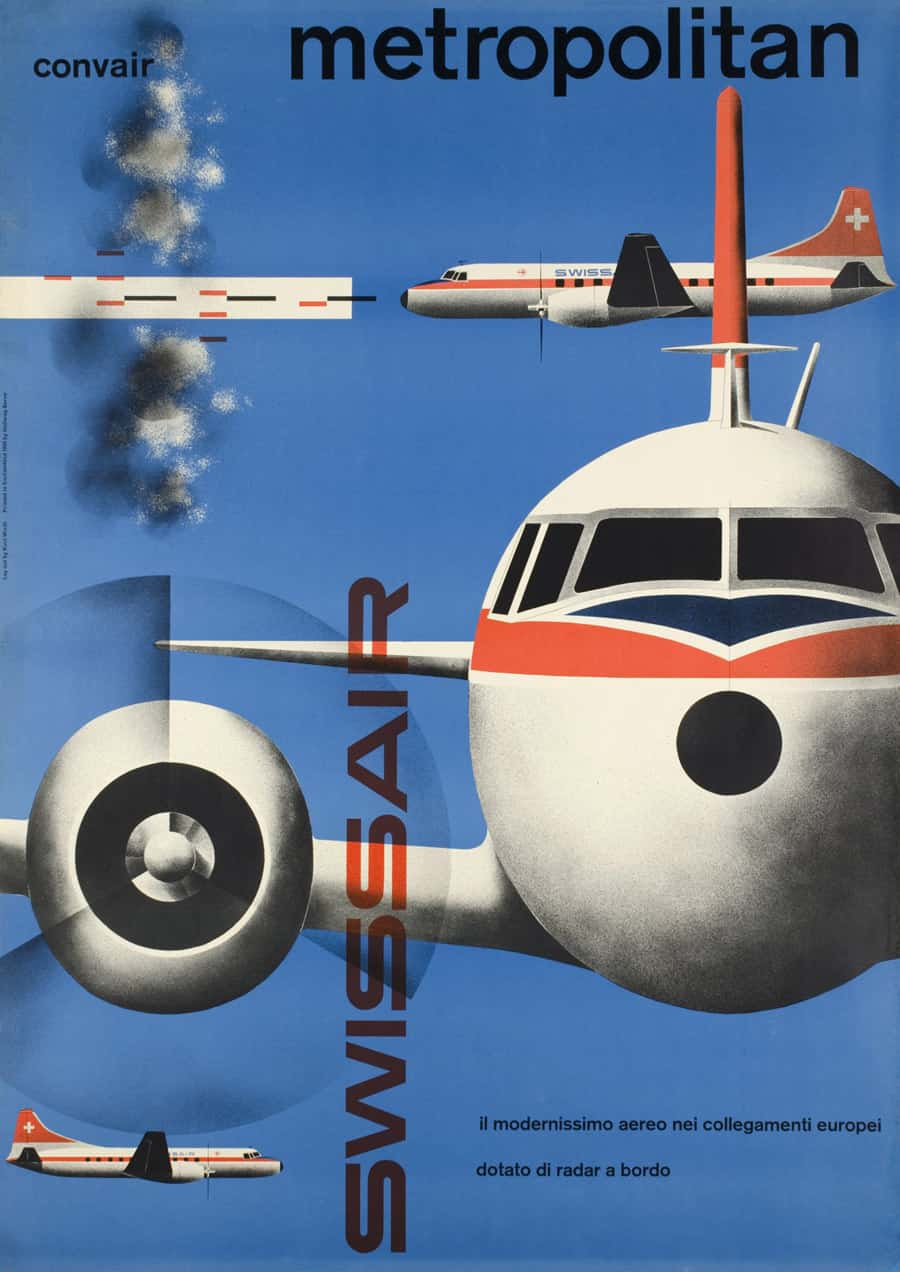 Swissair Designs from Galerie123