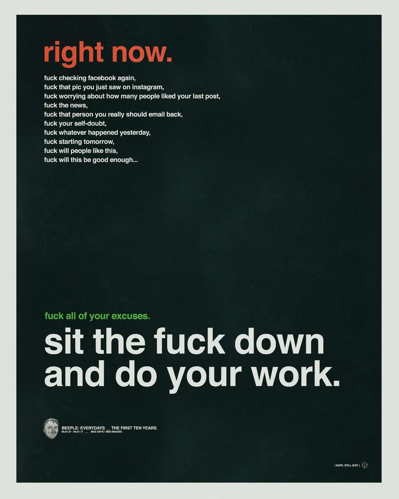 Motivational Poster Design