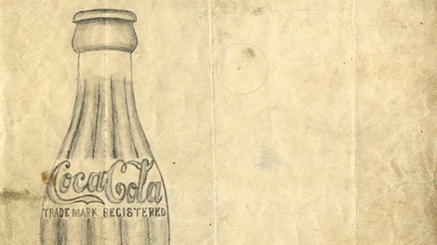 sketch-of-coca-cola-bottle