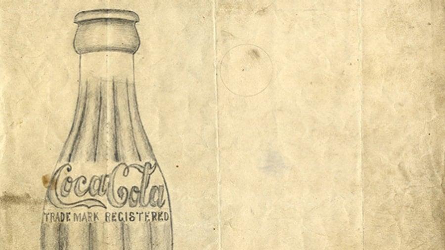 sketch-of-coca-cola-bottle