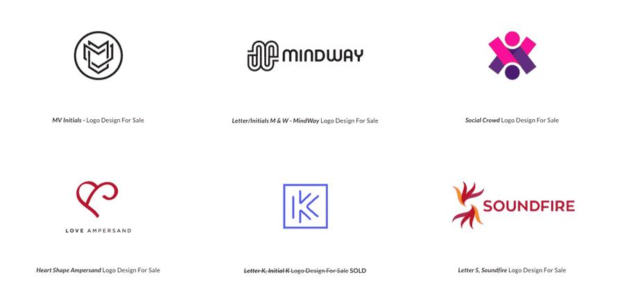 Custom Logo Designs for Sale