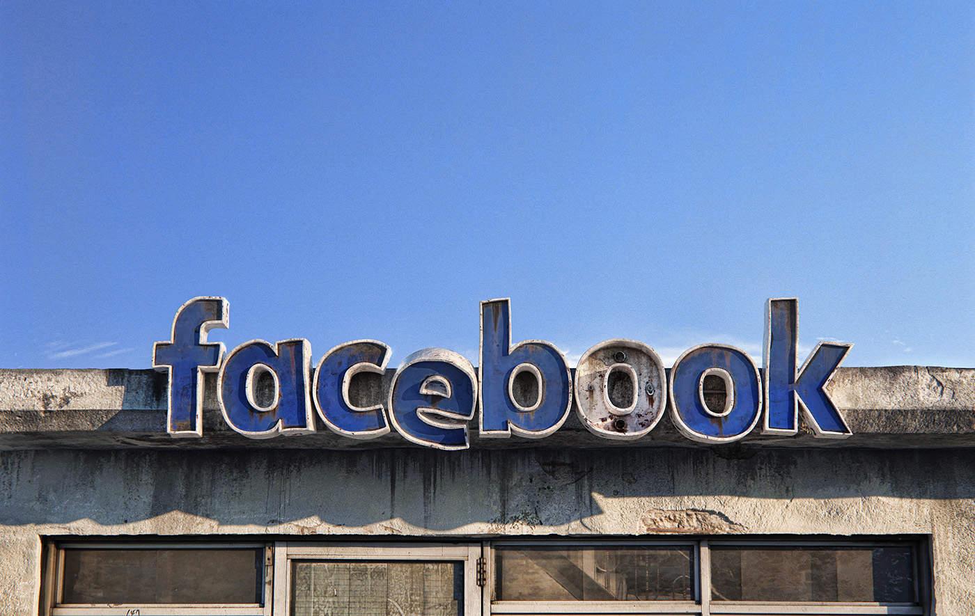 facebook social decay logo designed by Andrei Lacatusu