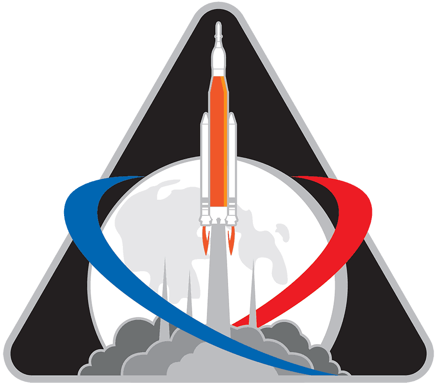 nasa Exploration Mission logo design Identifier
