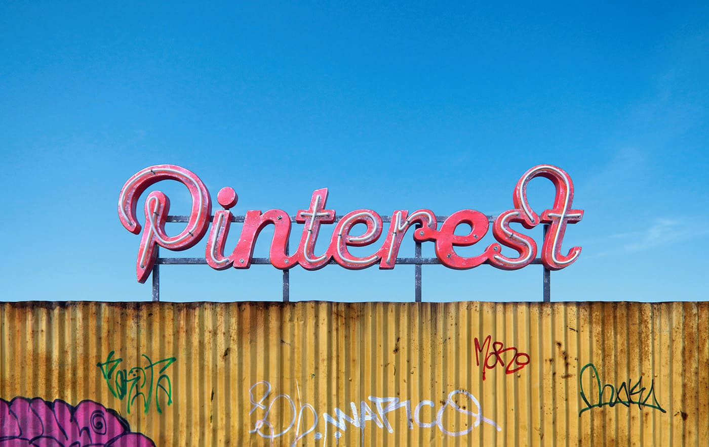 pinterest social decay logo designed by Andrei Lacatusu