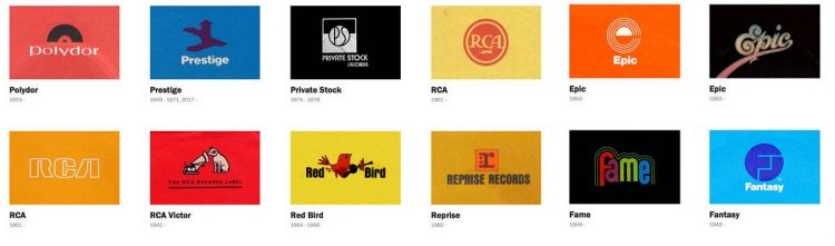 Record Label Logo Designs A Monster Logo Compilation by Reagan Ray