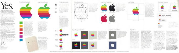 Apple Corporate Identity Guidelines Graphic Standards Manual