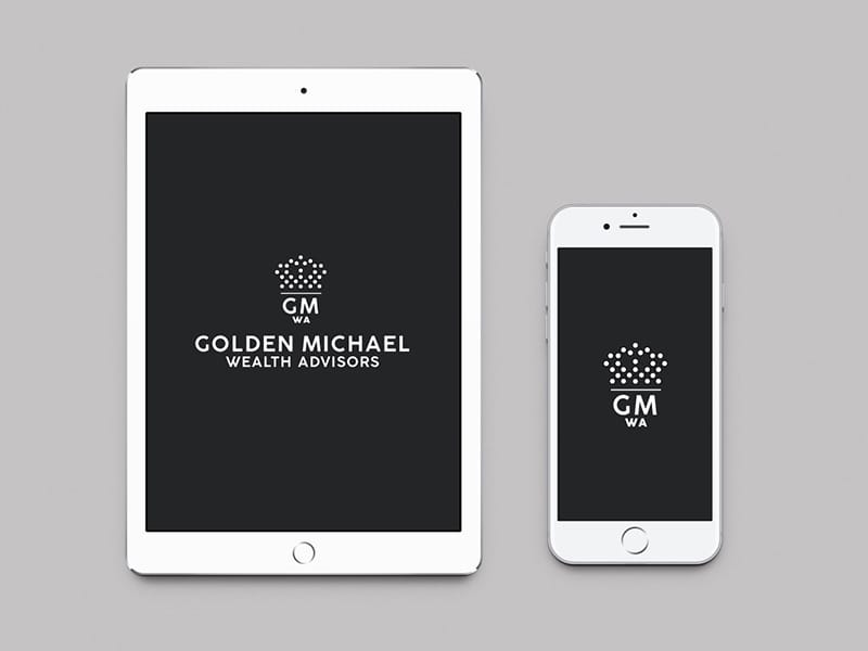 Golden-Michael-Wealth-Advisors-iphone-ipad-Mockup-Design