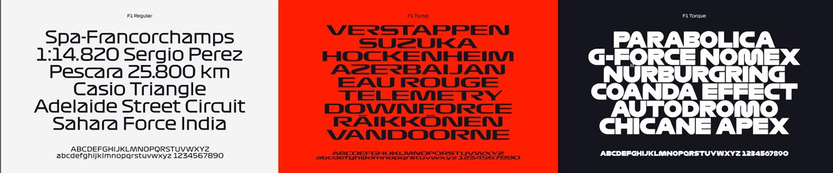 Formula 1 Fonts Free Download  f1 torque typeface font download