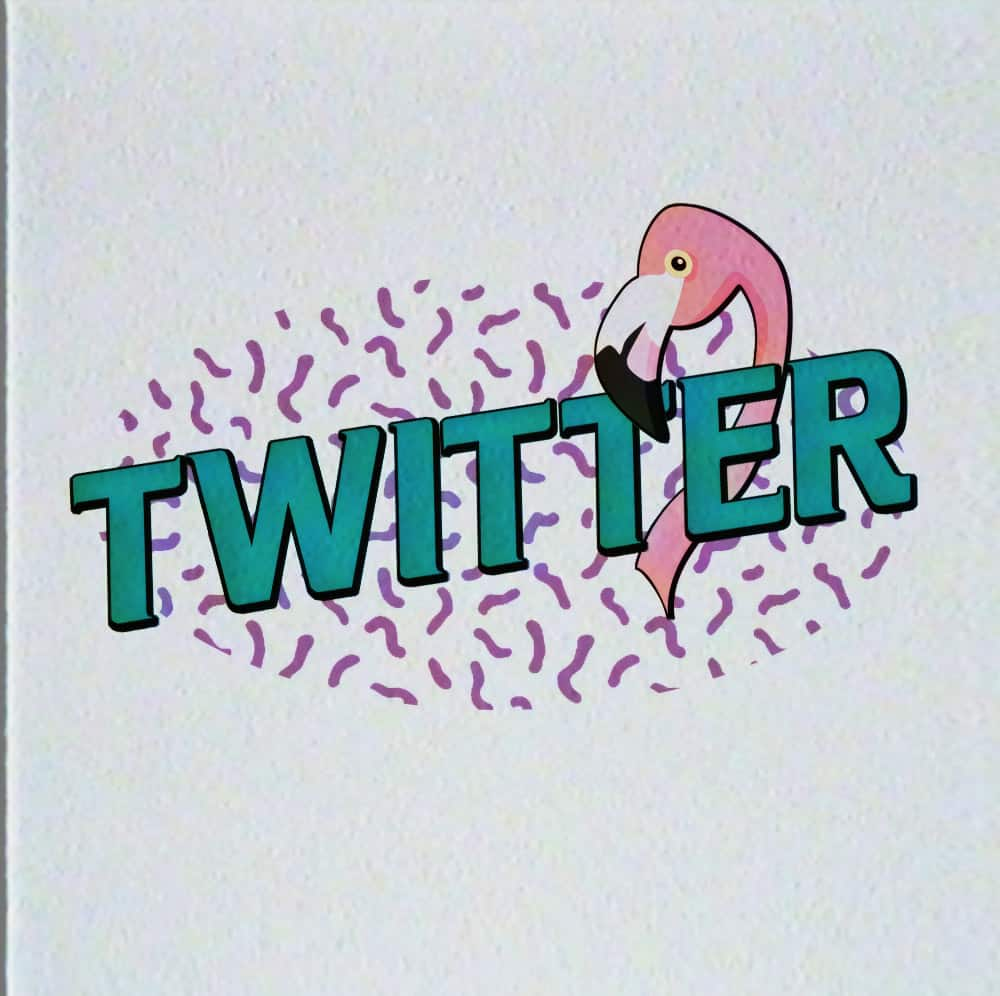 twitter-logo-retro-design