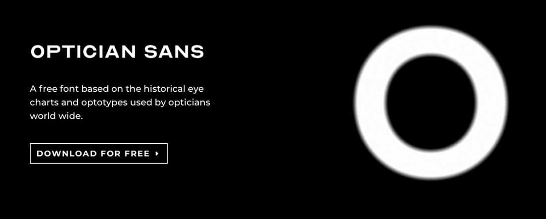 optician sans free font for download