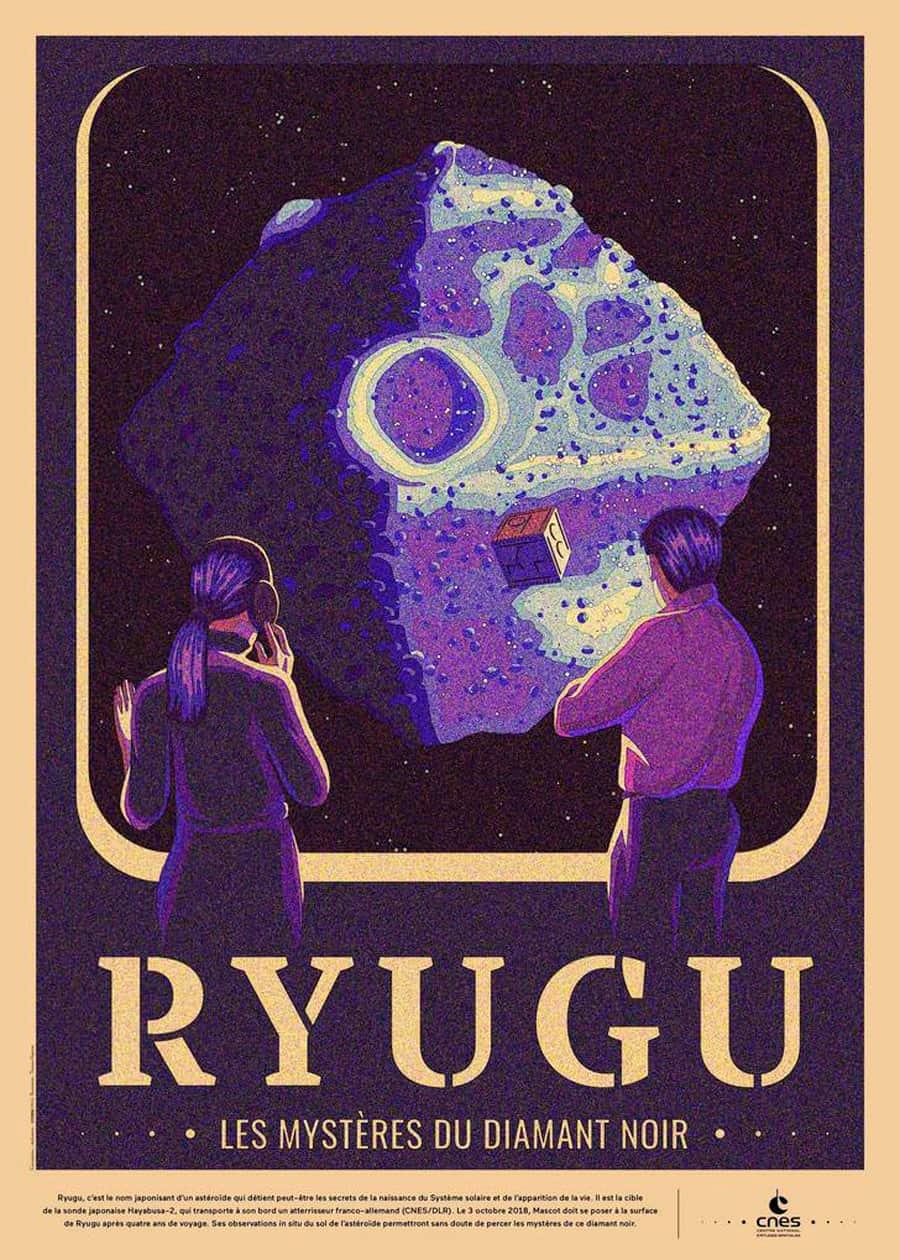 Retro-Futuristic Space Posters for CNES Designed byThomas Hayman