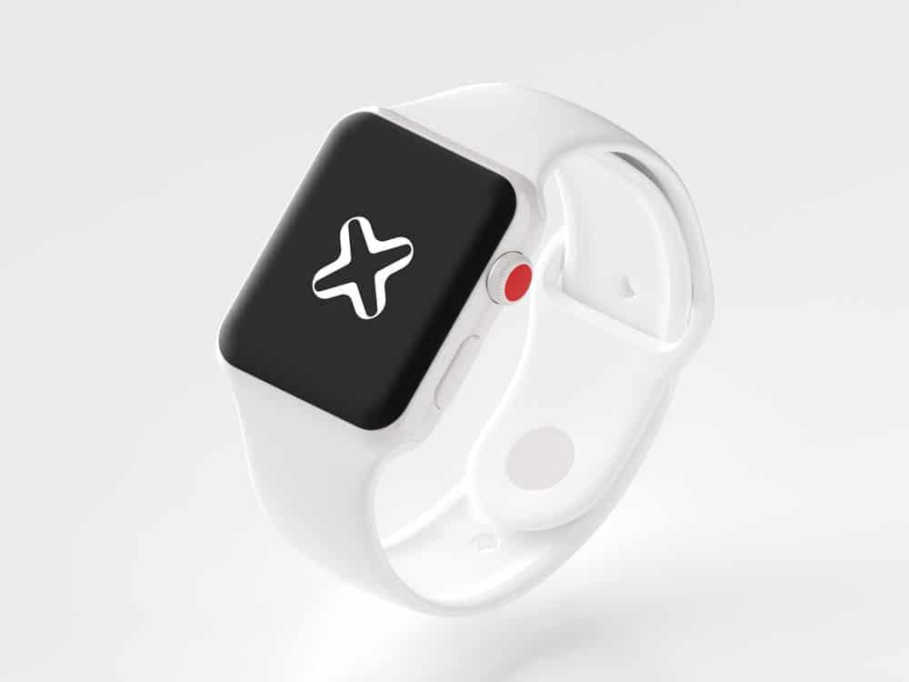 Internxt Apple Watch Mockup