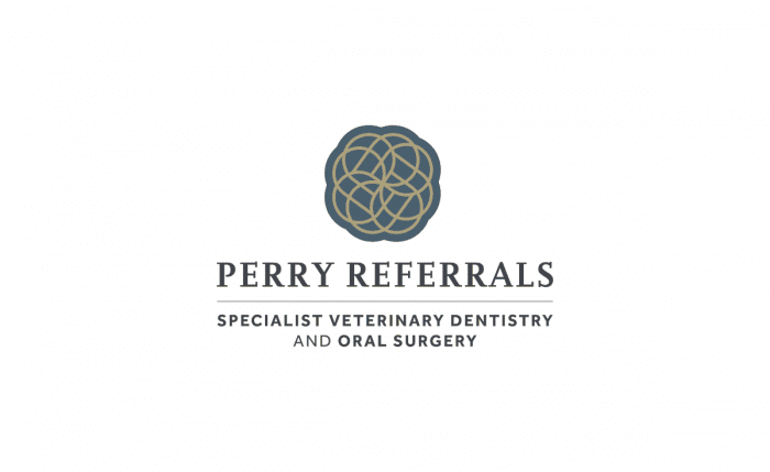 Perry Referrals Veterinary Specialist Logo & Brand Identity Designed by The Logo Smith