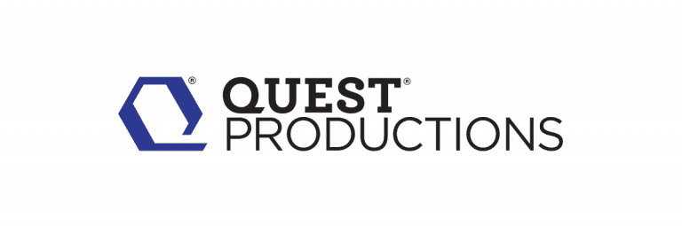 Quest Productions Documentary & Film Production Logo Designed by The Logo Smith