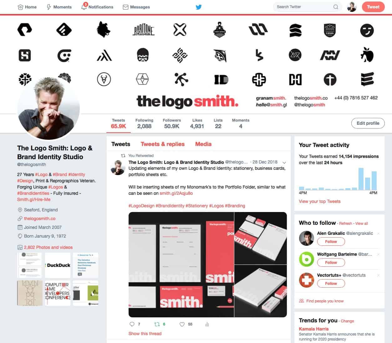The Logo Smith on Twitter