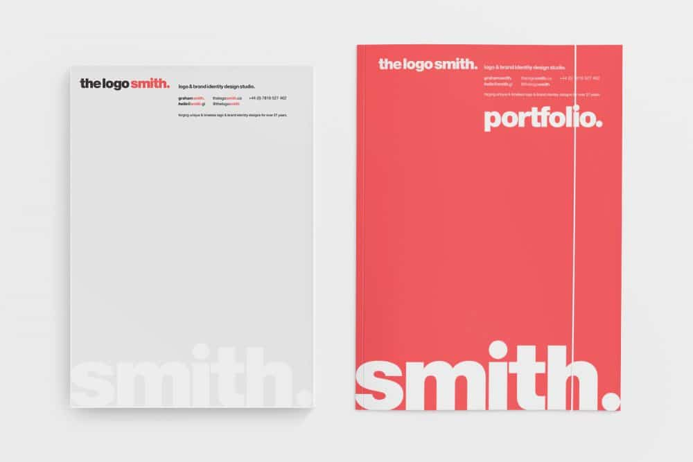 The Logo Smith Logo and Brand Identity Logo & Brand Identity Designed by Freelance Logo Designer The Logo Smith
