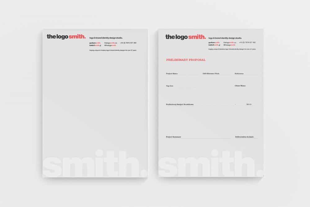 The Logo Smith Logo and Brand Identity Logo & Brand Identity Designed by Freelance Logo Designer The Logo Smith
