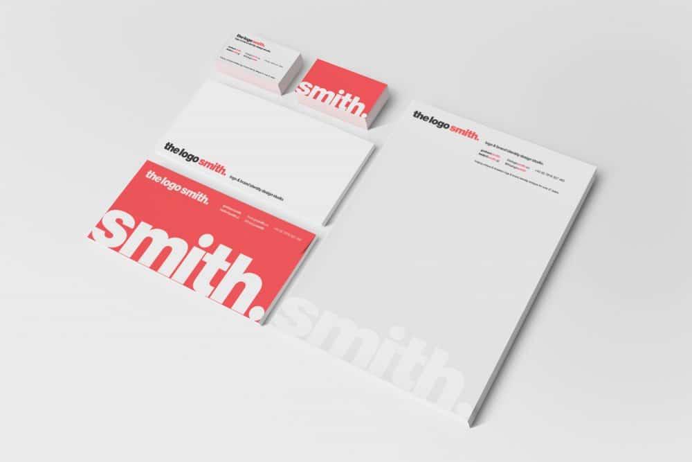The Logo Smith Logo and Brand Identity Logo & Brand Identity Designed by Freelance Brand Designer The Logo Smith
