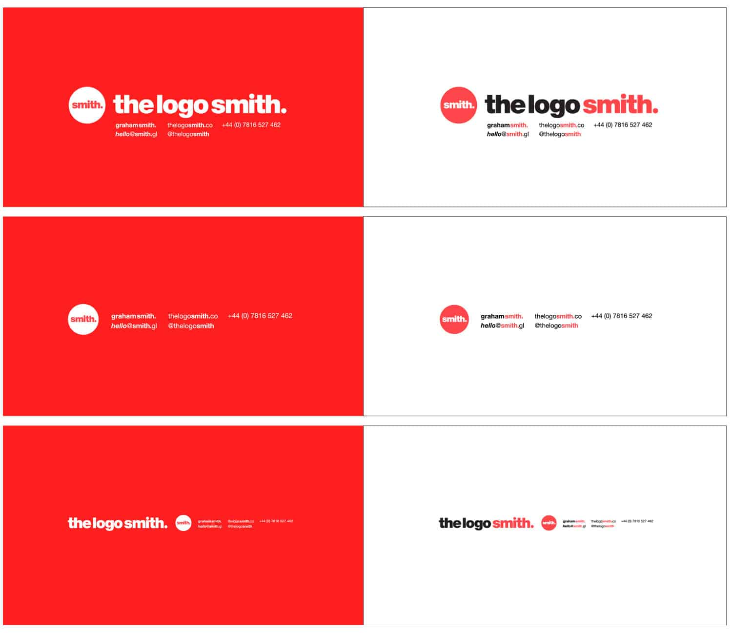The Logo Smith Logo & Brand Identity Designed by The Logo Smith