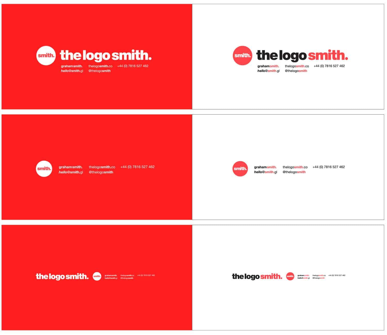 The Logo Smith Logo & Brand Identity Designed by The Logo Smith