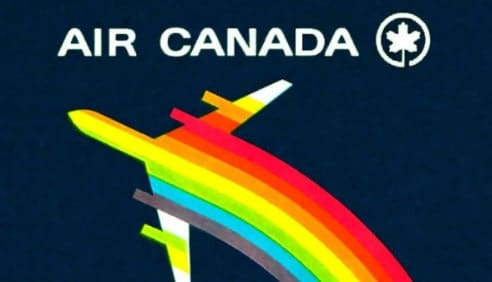 Vintage Air Canada Poster