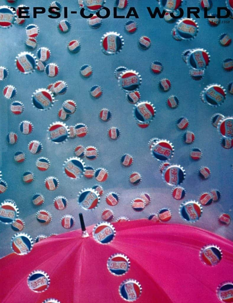 Vintage Pepsi-Cola World Magazine Cover April 1958