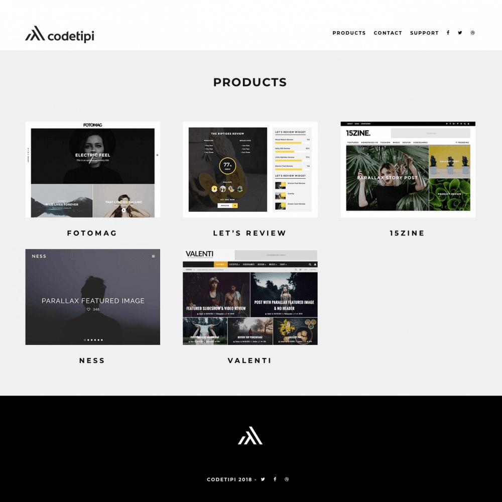 Codetipi Website