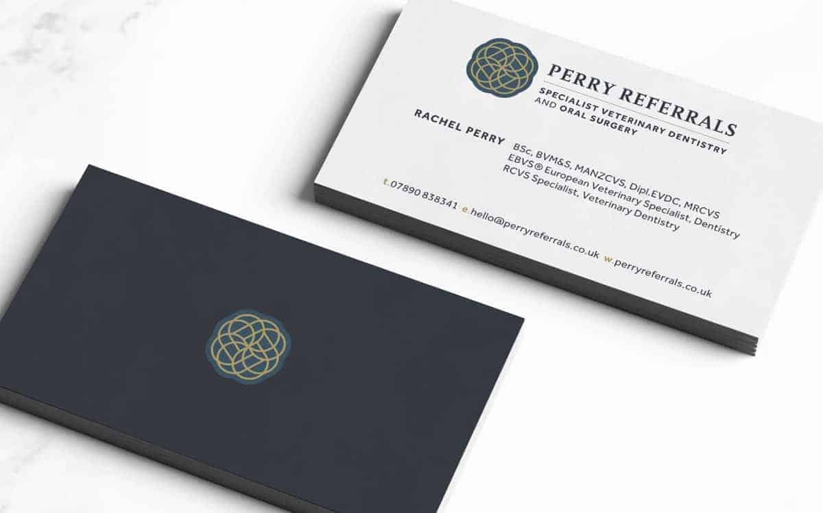 Perry Referrals Veterinary Logo & Brand Identity Design