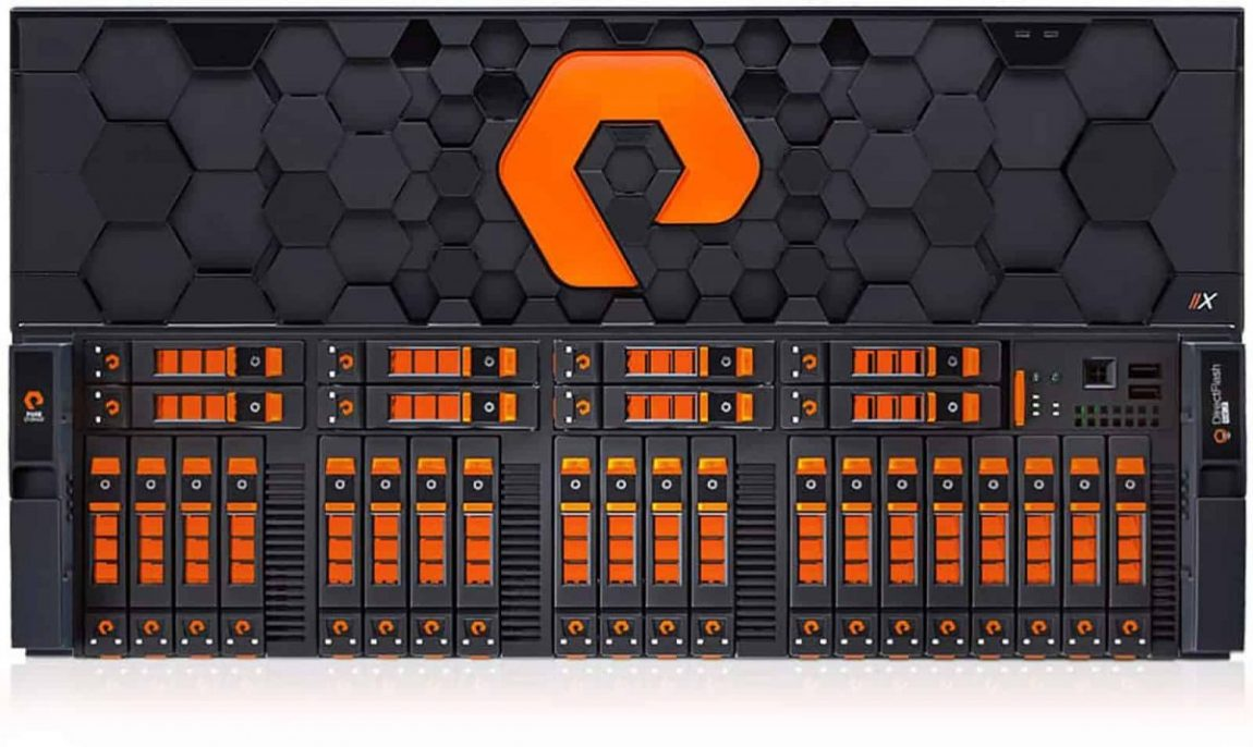 Pure Storage Enterprise Flash Storage Logo & Brand Identity Designed by Freelance Logo Designer The Logo Smith.