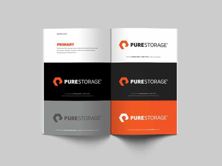 Pure Storage Logo Design