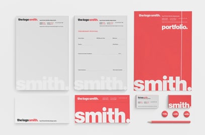 The Logo Smith Logo and Brand Identity Designed by thelogosmith