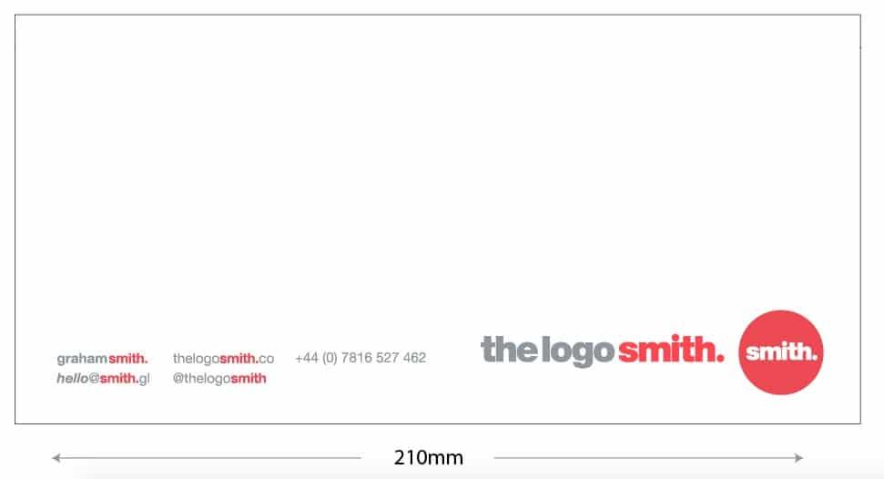 Logo Design Tip: How big should my logo be
