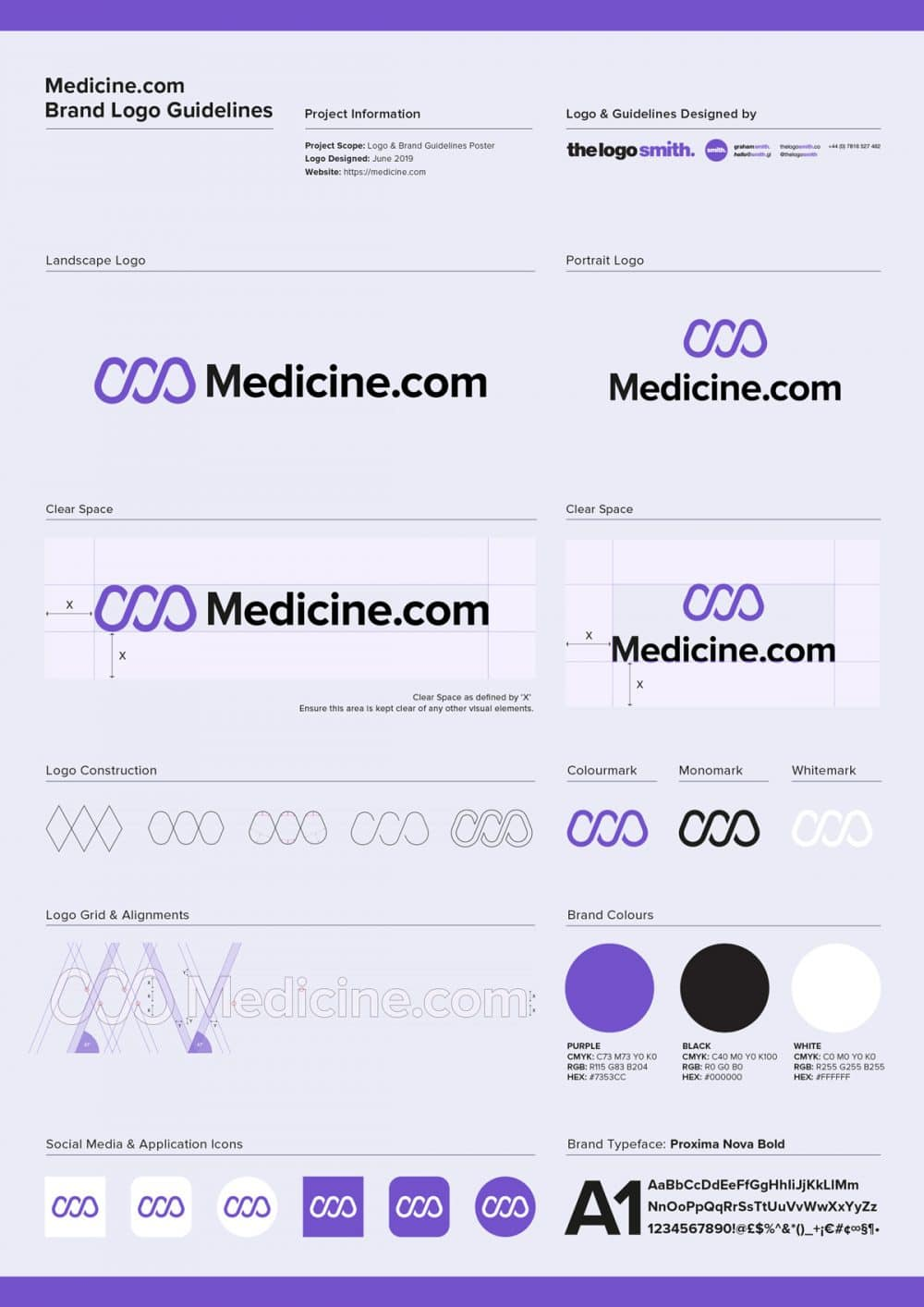 Brand Logo Guidelines Poster Designed by Freelance Logo Designer The Logo Smith