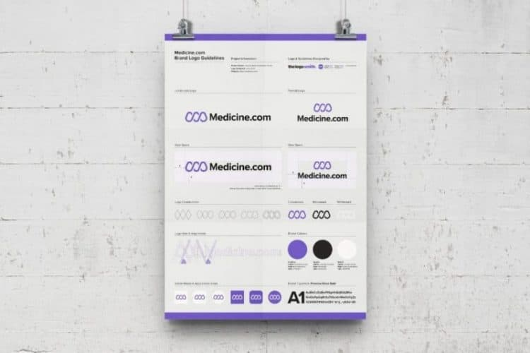 Brand Logo Usage Guidelines A3 Poster - Free Template for Download 8
