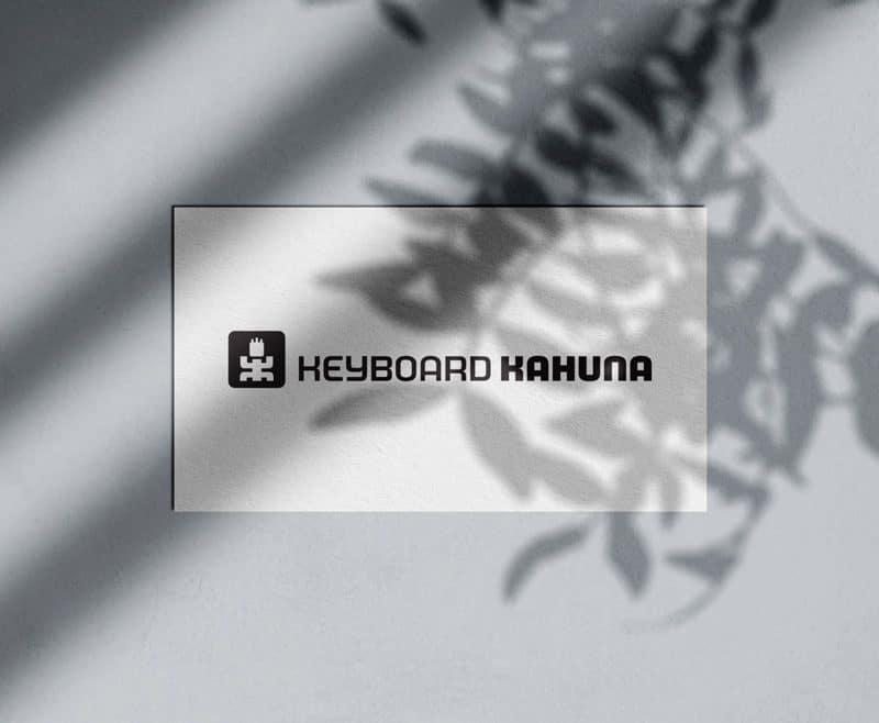 Keyboard Kahuna Logo Designed by Freelance Logo & Visual Designer The Logo Smith
