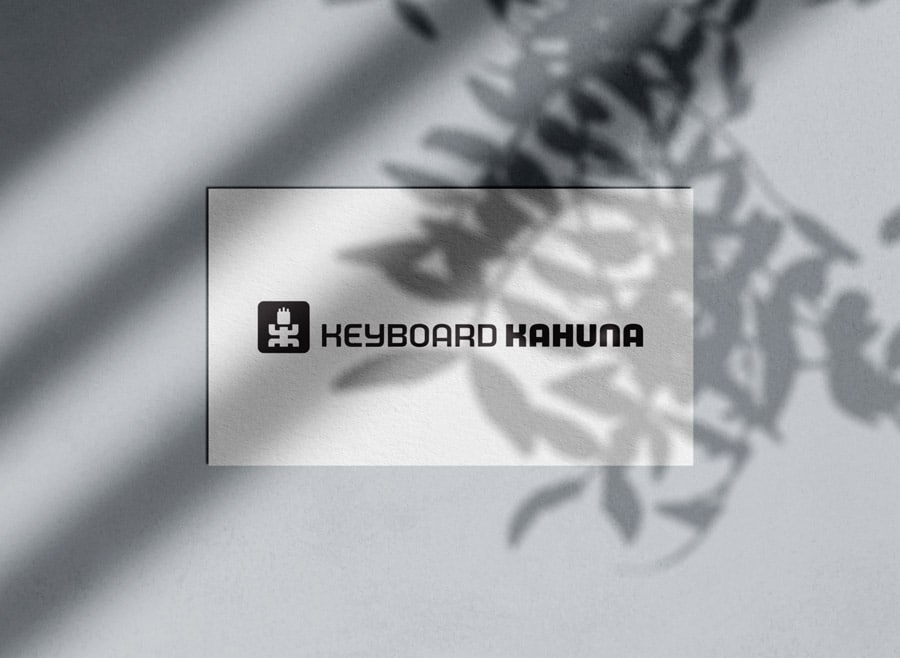 Keyboard Kahuna Logo Designed by Freelance Logo & Visual Designer The Logo Smith