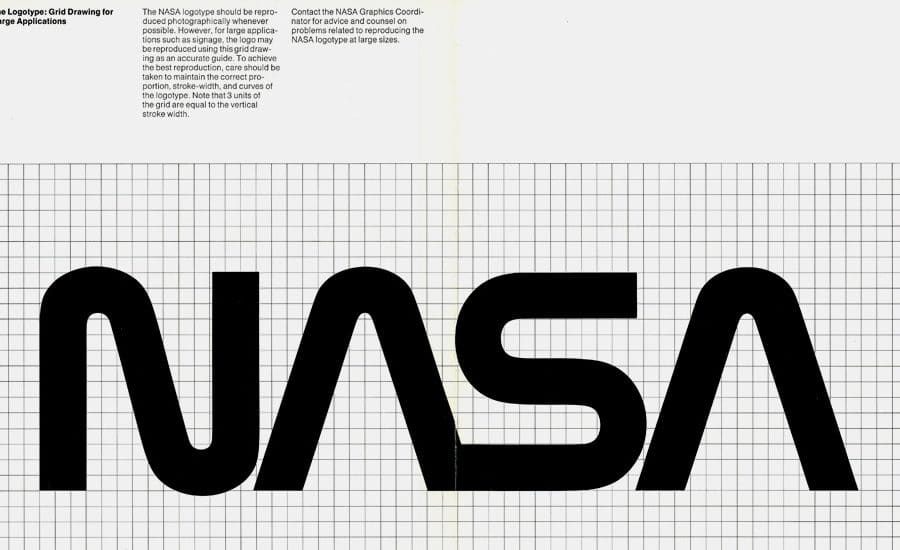 NASA Graphics Standards and Brand Identity Guidelines Circa 1976 2