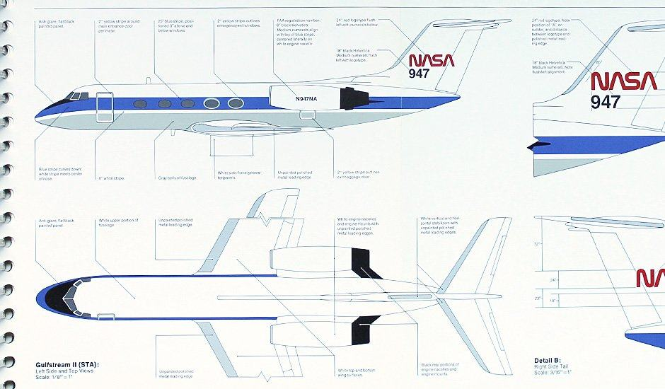 NASA Graphics Standards and Brand Identity Guidelines Circa 1976
