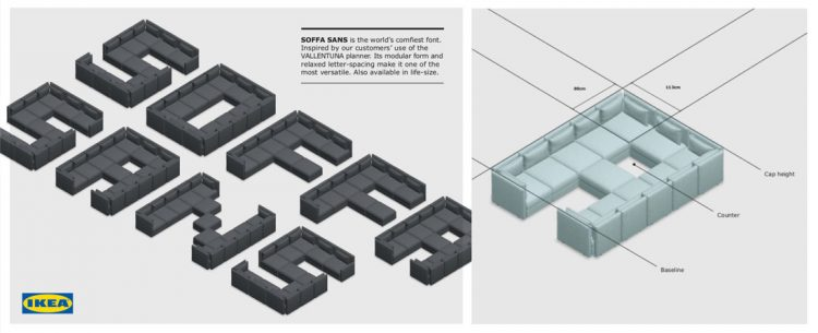 SOFFA SANS Font by Ikea the world's comfiest font